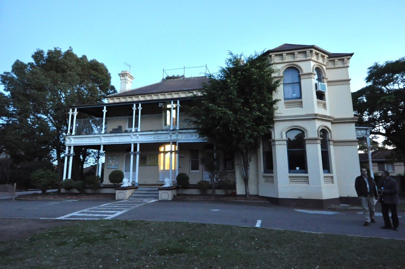 Fig 1 - previous dwelling, now a school building North Strathfield, NSW, Australia