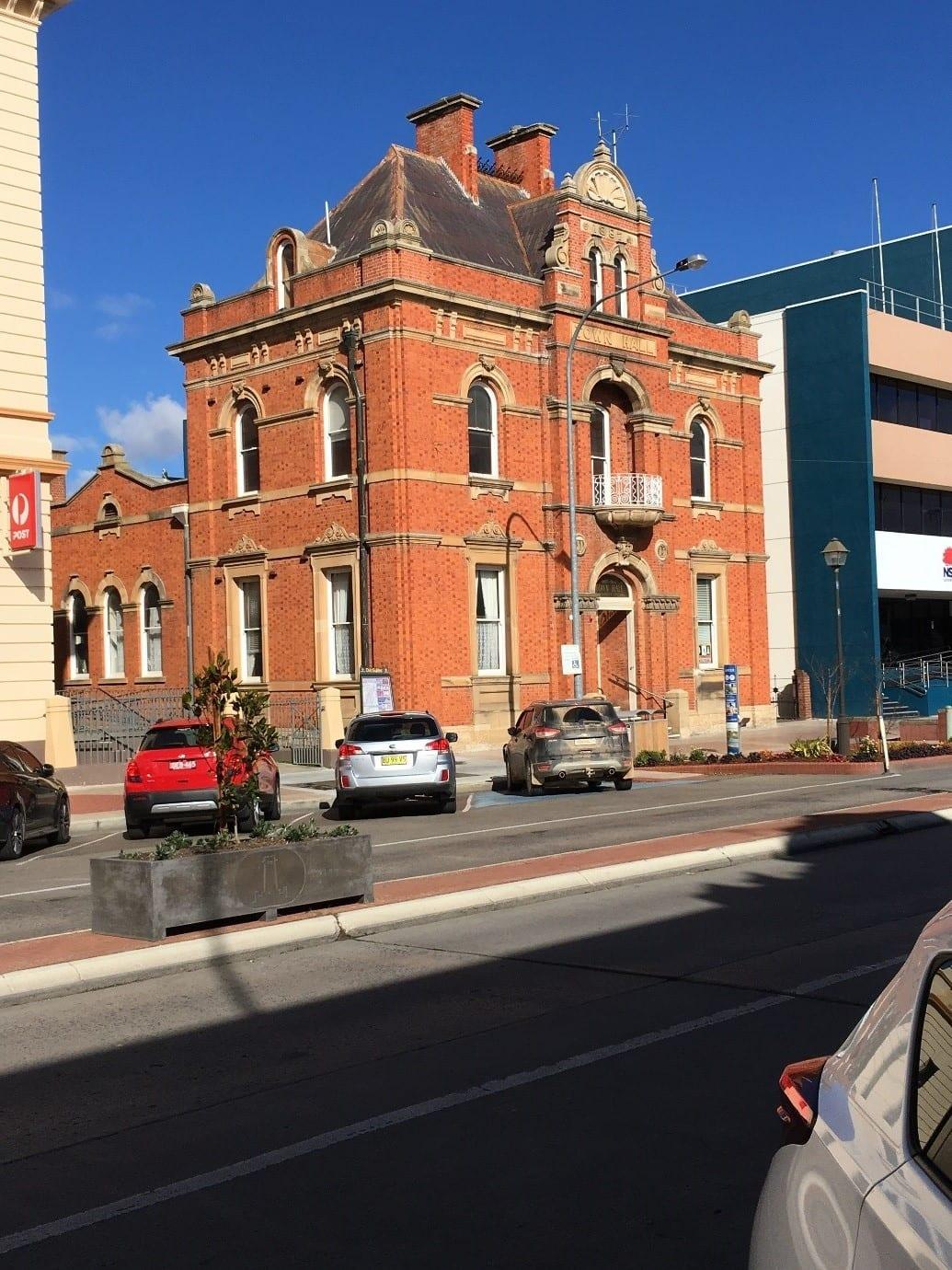 Fig.1 - Goulburn Town Hall, Goulburn - NSW, Australia