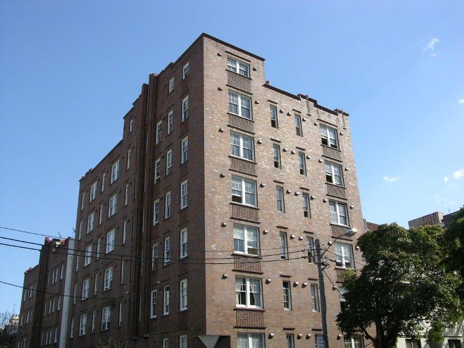 Heritage listed block of flats Darlinghurst NSW