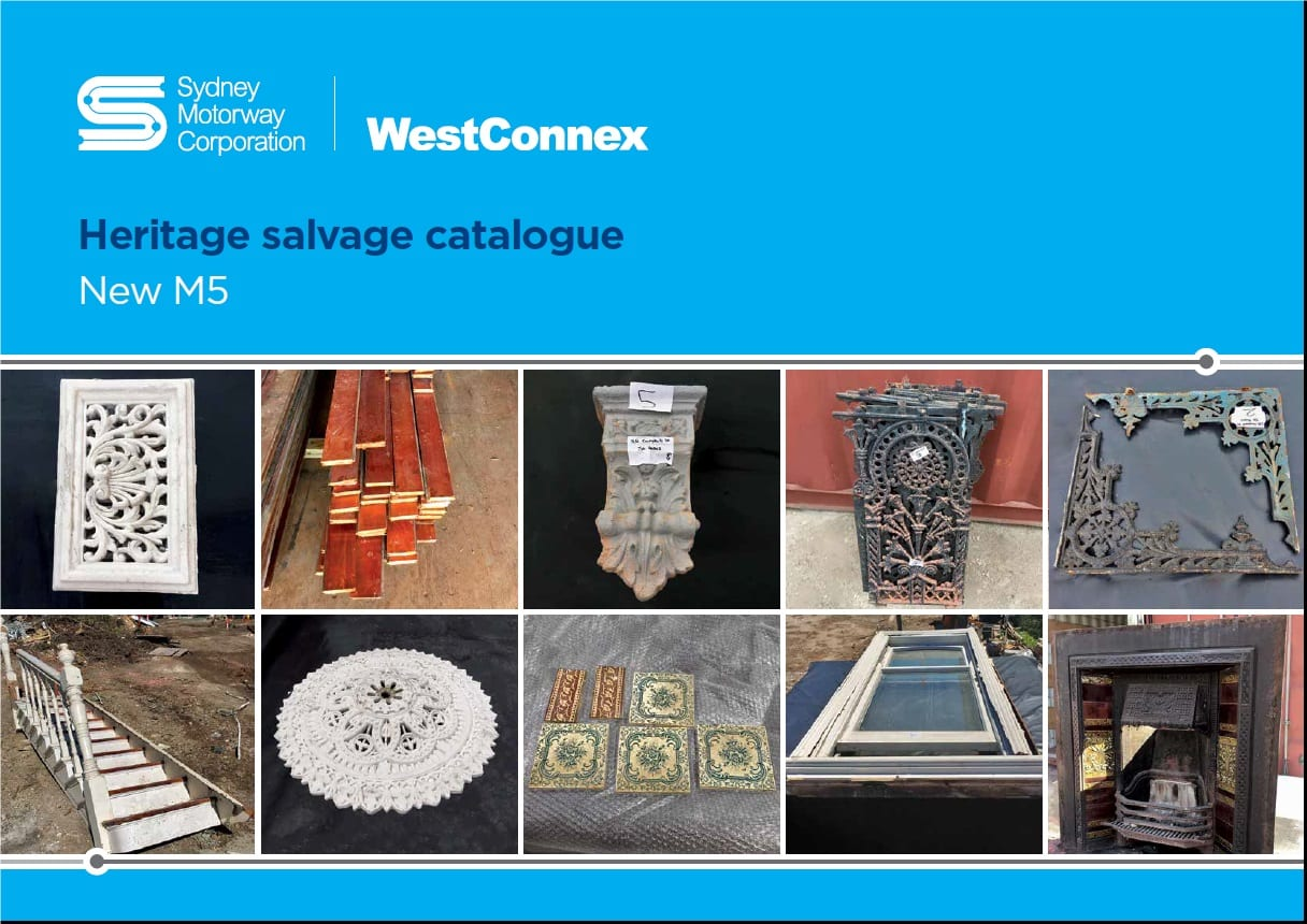 Fig 1. Salvage Catalogue
